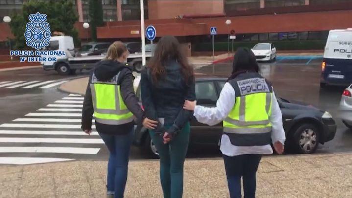 La Policía Nacional libera en Madrid a una niña de 13 años obligada por su familia a prostituirse