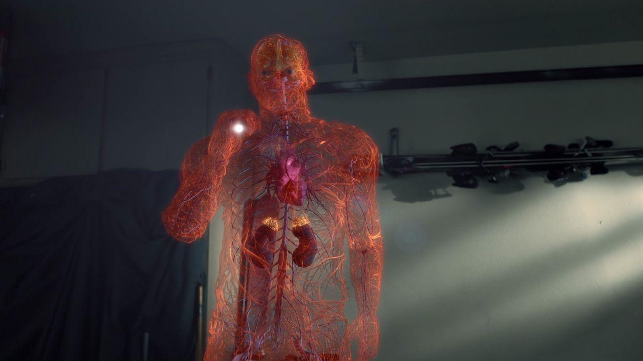Escena del documental 'Los secretos del cuerpo humano'