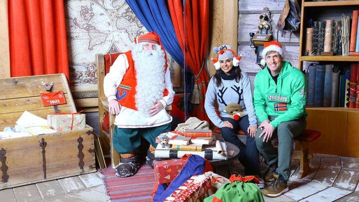 'Dos en la carretera' viaja esta Nochebuena a Laponia con Papá Noel
