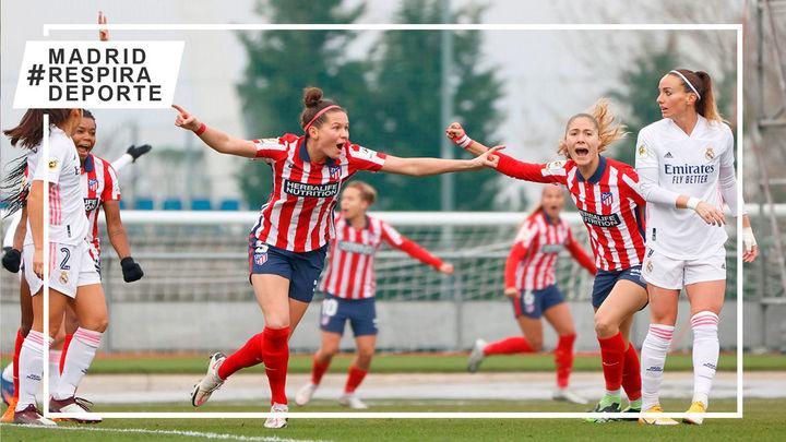 0-1. El primer derbi fememino entre el Real Madrid y Atlético se tiñe de rojiblanco