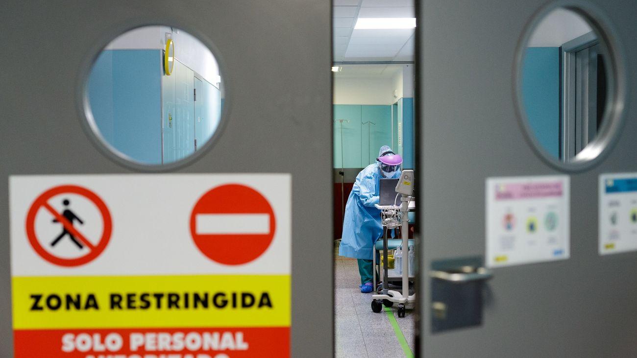 El Hospital Universitario Nuestra Señora de La Candelaria, en Santa Cruz de Tenerife.