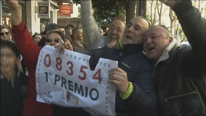 Los municipios madrileños más afortunados en la lotería de Navidad