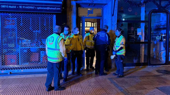 Muere un hombre por heridas de arma blanca  en la calle Santa Engracia de Madrid