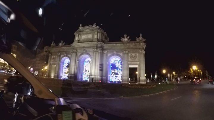 Taxiluz, una forma divertida de disfrutar de las luces de Navidad