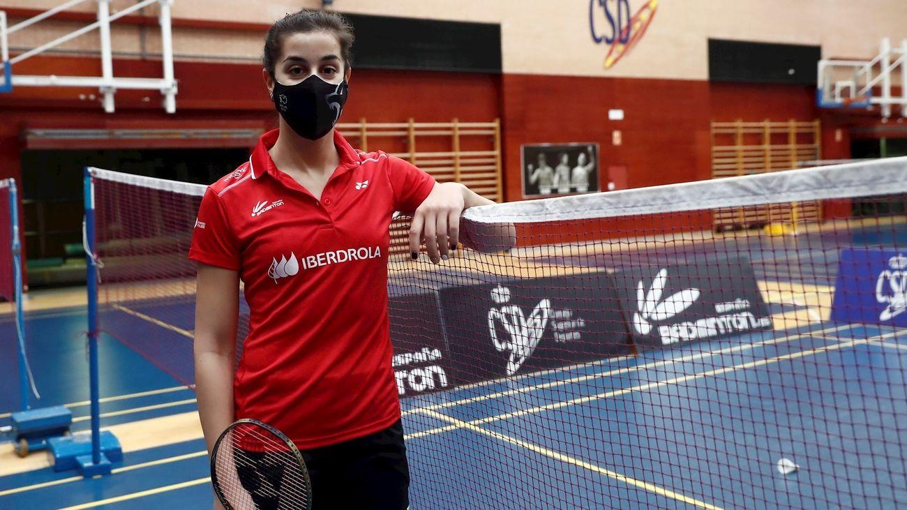 """Carolina Marín: """"Voy a por todo en los Juegos y Mundial"""""""