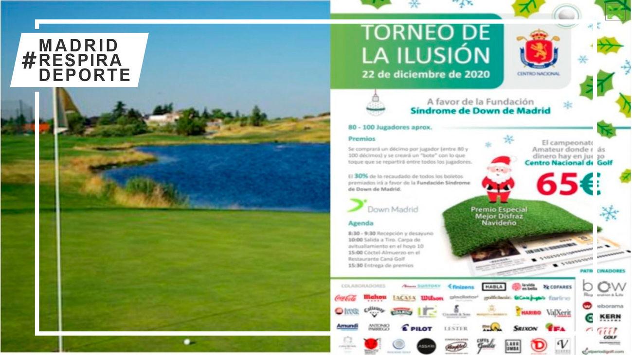 La Federación de Golf de Madrid celebra este martes el Torneo de la Ilusión Navidad 2020