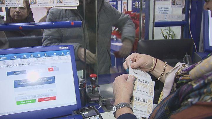 La venta de lotería de Navidad cae un 20% este año
