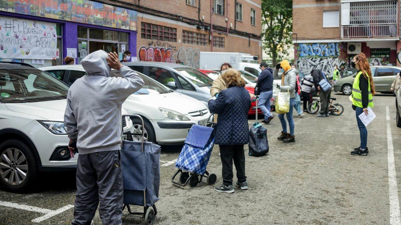 El coronavirus deja en España un millón y medio de personas más en exclusión social