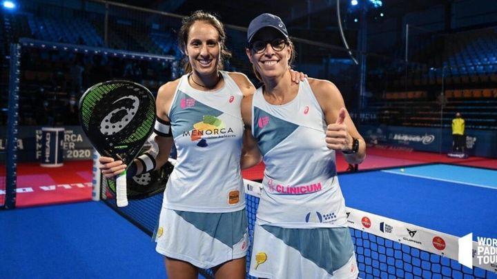 Lucía Sainz y Gemma Triay separan sus caminos en el pádel