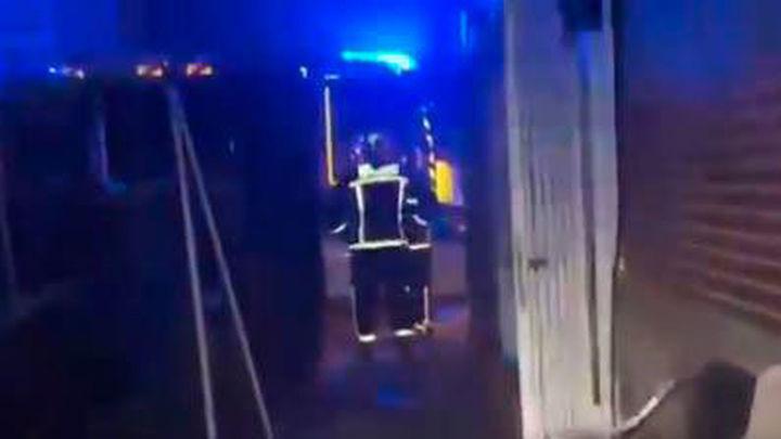 Incendio en un chalet de Humanes, con tres afectados por inhalación de humo