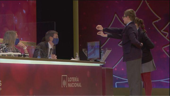 El segundo premio de la Lotería de Navidad, el 6095, deja sus millones en Madrid