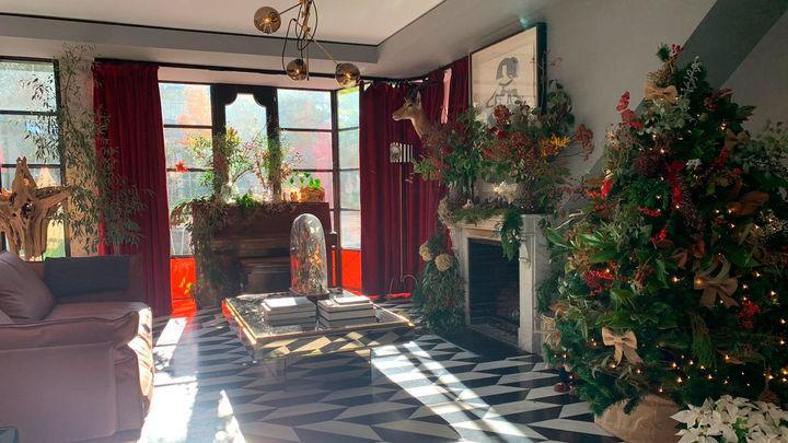 La espectacular vivienda de suelos de Borromini de los dos jardines