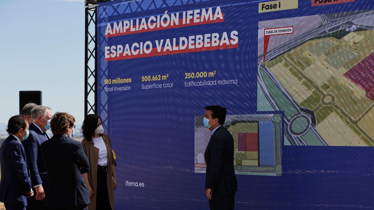 Presentación del comienzo de las obras de ampliación de IFEMA Valdebebas