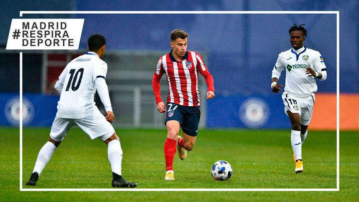 0-0.  Atlético B y Getafe B firman tablas en partido aplazado