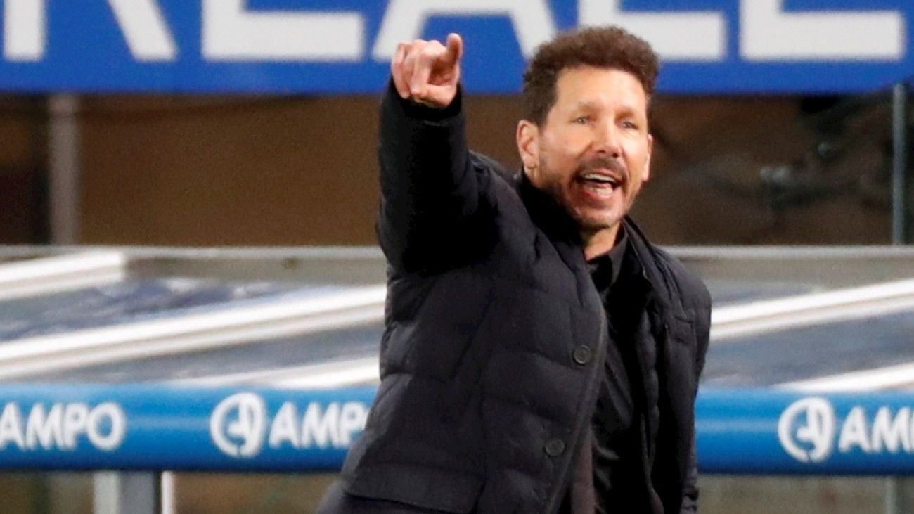 """Simeone: """"¿Cuántos partidos quedan? ¿25? Pues partido a partido, partido a partido, partido a partido"""""""