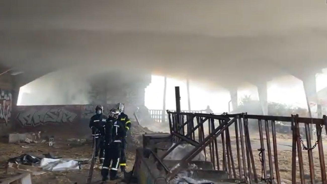 Incendio en Alpedrete