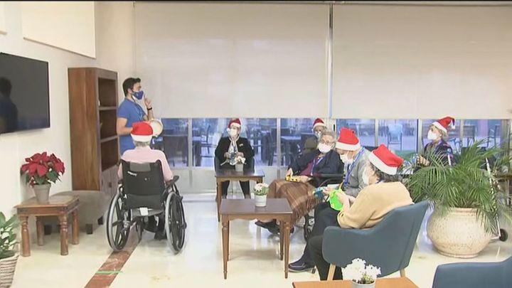 Así preparan la Navidad en las residencias de la Comunidad donde se quedan la mayoría de los mayores