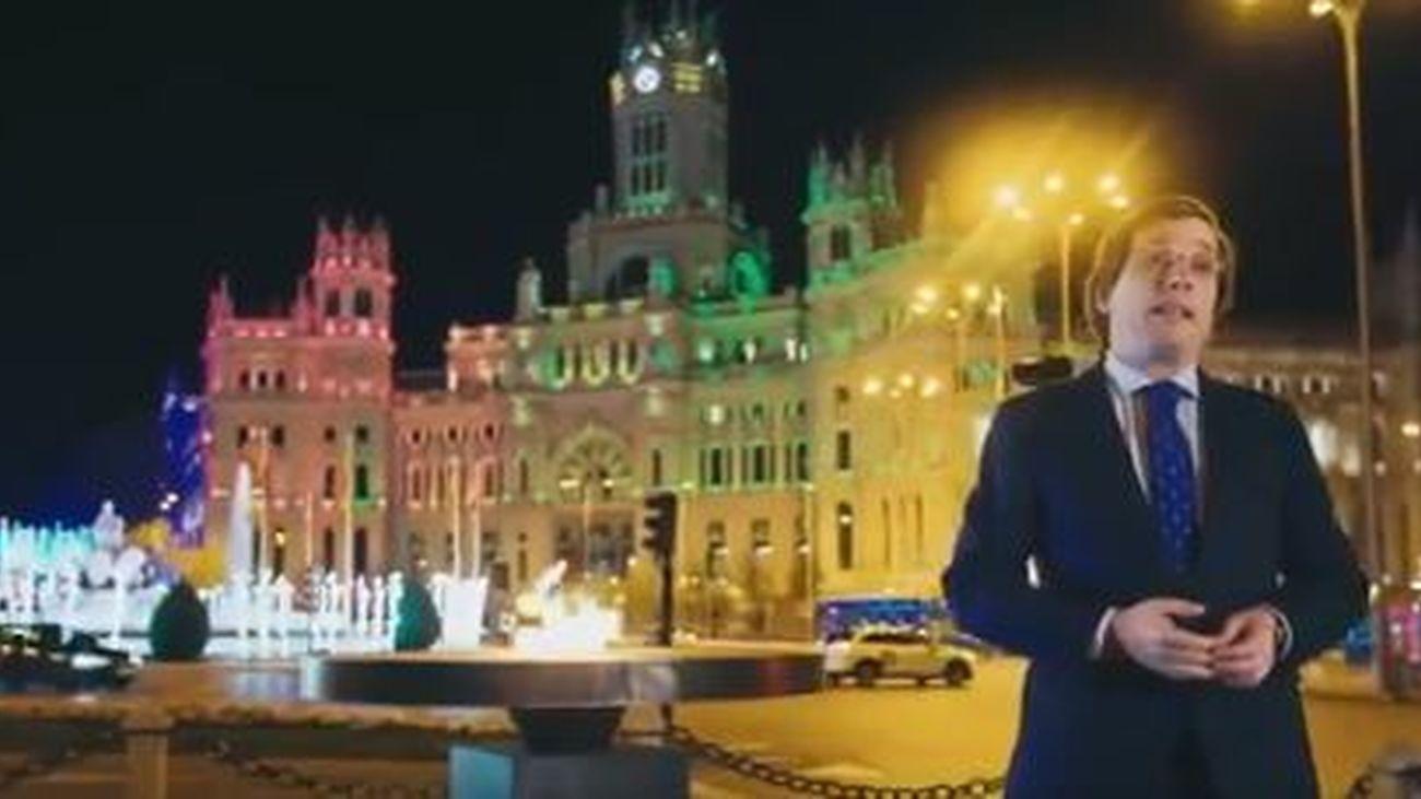 """Almeida pide a  los madrileños un """"penúltimo esfuerzo"""" contra la pandemia en Navidad"""