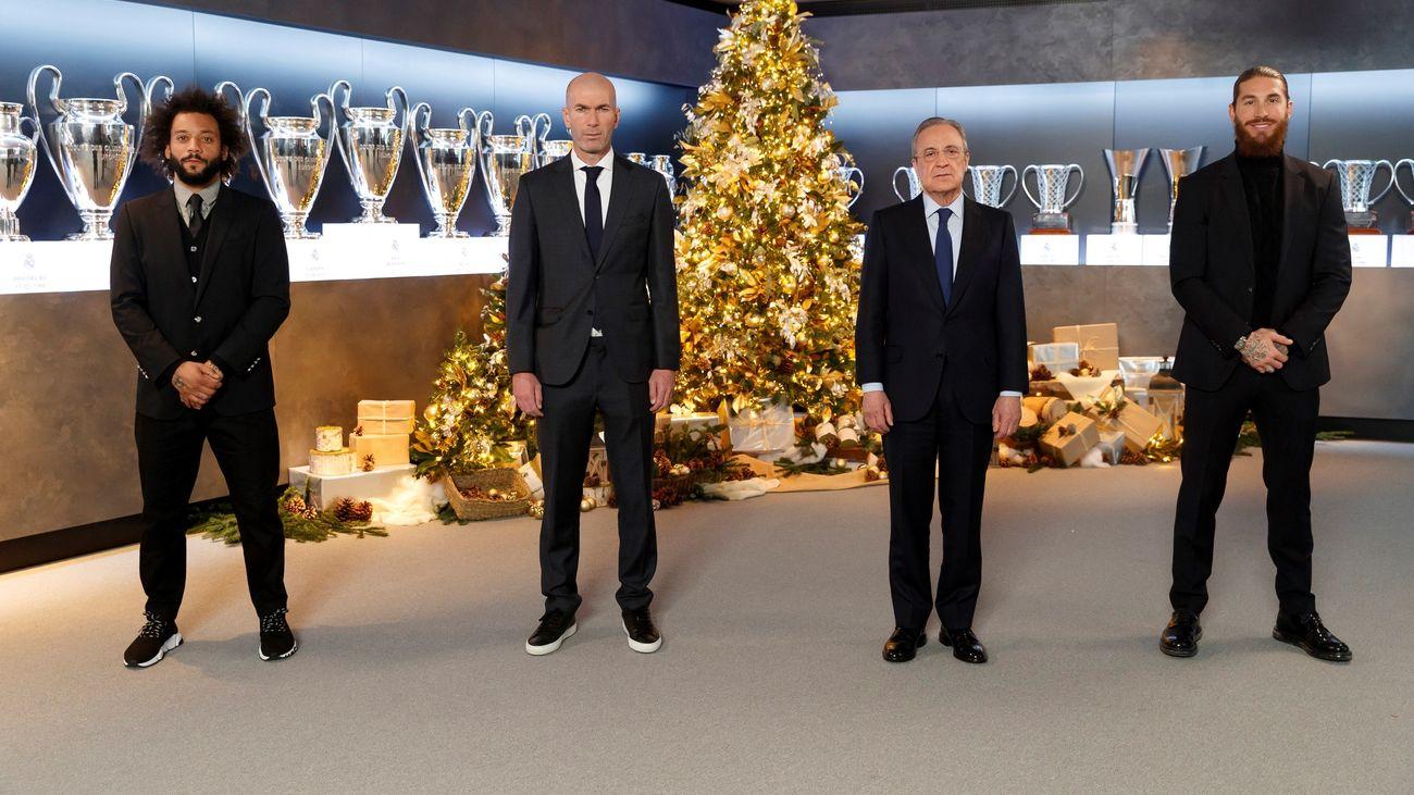 Felicitación de Navidad del Real Madrid