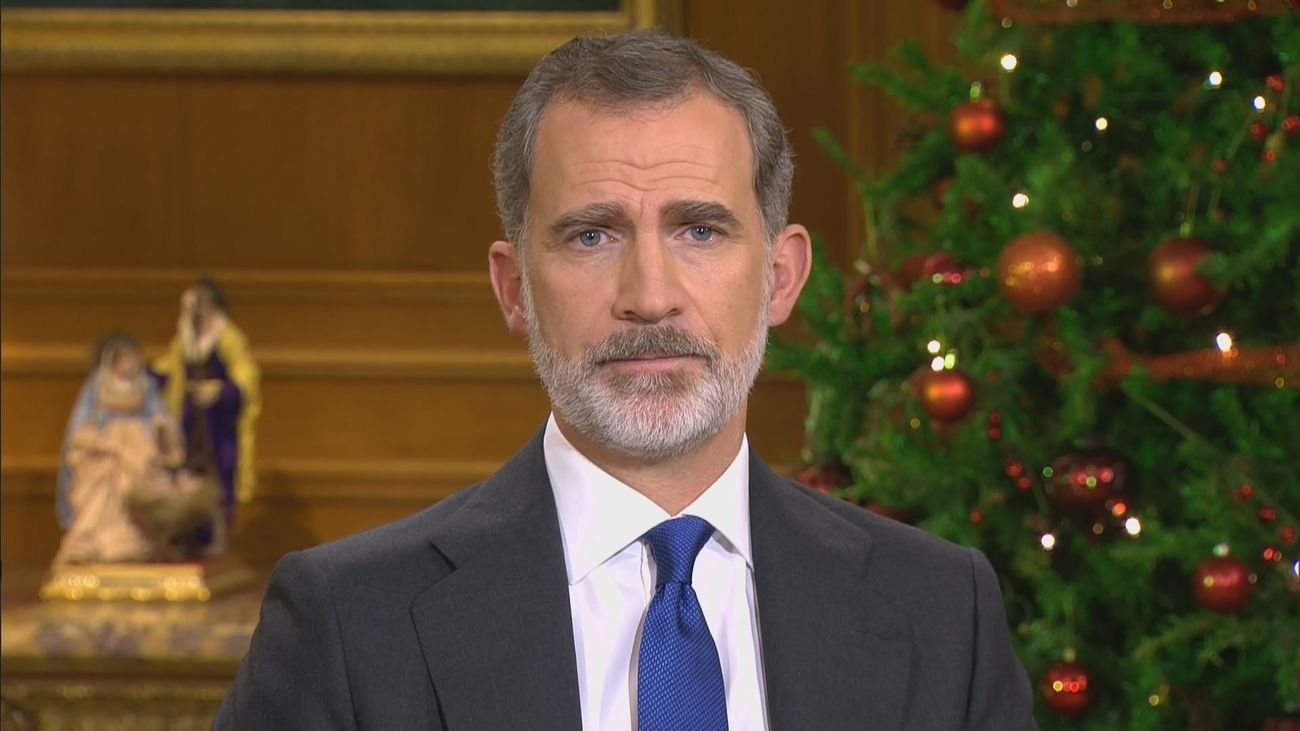 Mensaje de Navidad del rey Felipe VI