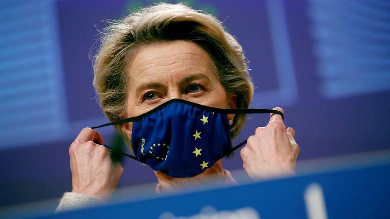 La presidenta de la Comisión Europea (CE), Ursula von der Leyen