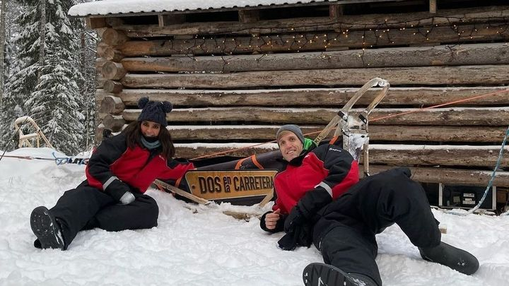Dos en la carretera- Laponia