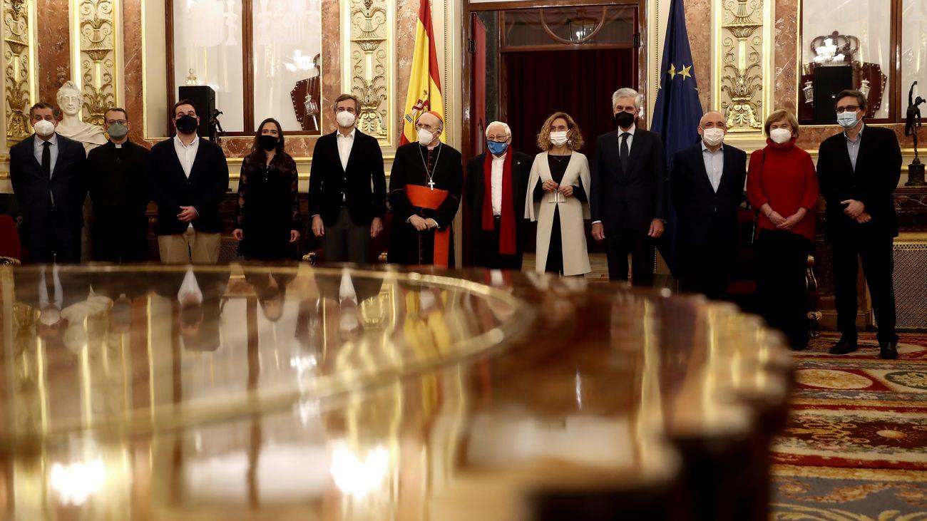 El Congreso abrió sus puertas para la tradicional cena de Nochebuena de Mensajeros de la Paz