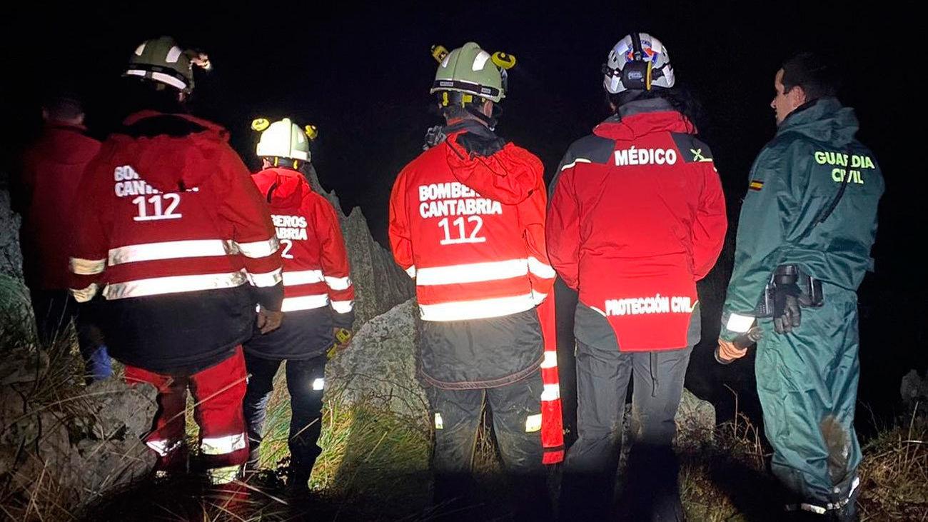 Equipos de emergencias en Cantabria