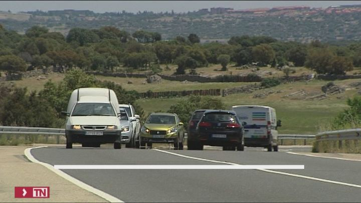 Un 76% de los fallecidos en carretera pierden la vida en vías interurbanas