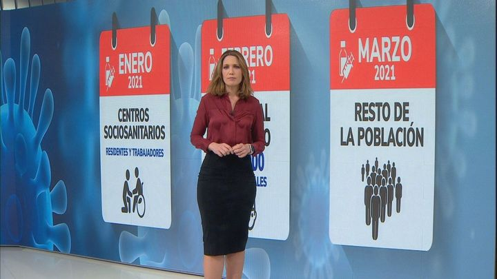 Las fechas claves del plan de vacunación en Madrid
