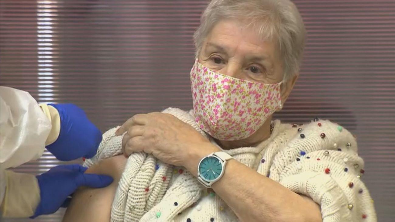 Madrid ya está vacunando contra la Covid-19 a nuestros mayores