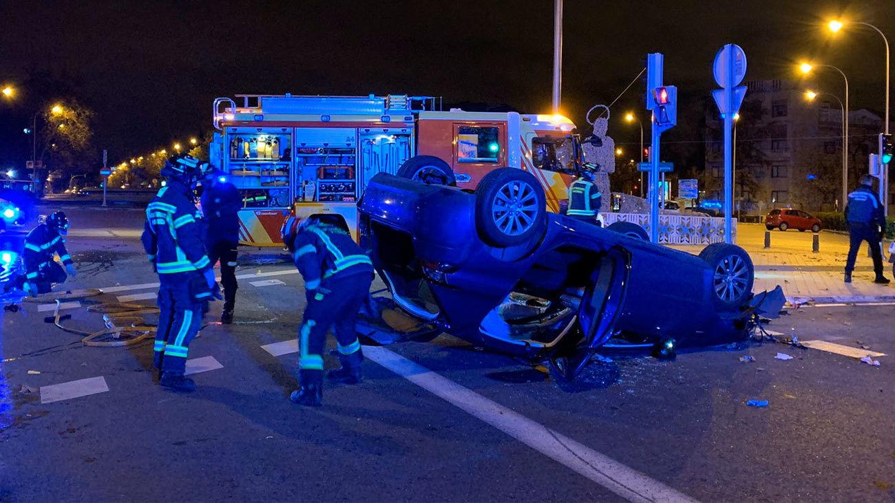 Accidente en la Plaza República Argentina