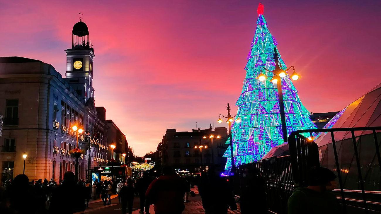 La ruta navideña que no te puedes perderen Madrid