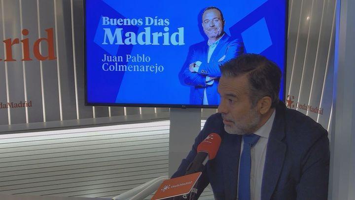 El consejero de Justicia pide acelerar la entrega de vacunas para la Comunidad de Madrid