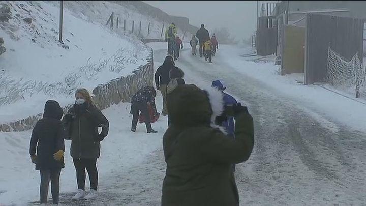 """Viento y frío, los efectos de """"Bella"""" en la región"""