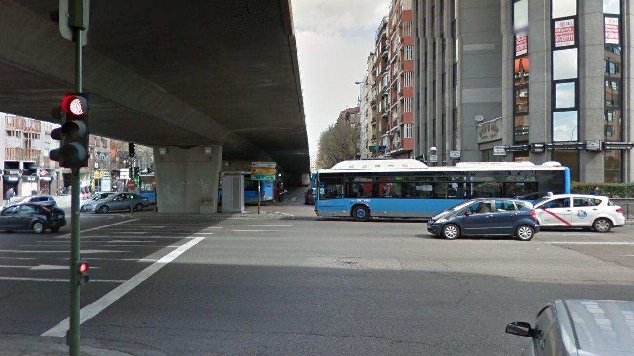 Cruce elevado de Doctor Esquerdo y Avenida de la Ciudad de Barcelona