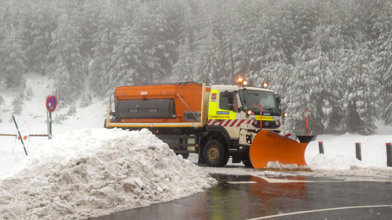 Dispositivo sin precedentes contra el frío y la nieve en Madrid ante la llegada de Filomena
