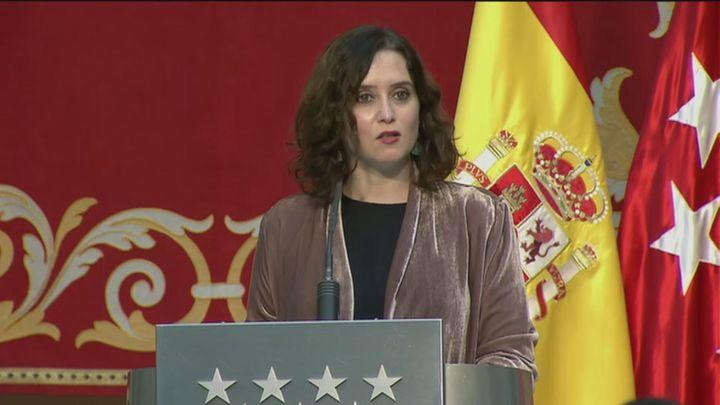 """Ayuso hace balance del año: """"La pandemia no ha paralizado a Madrid"""""""