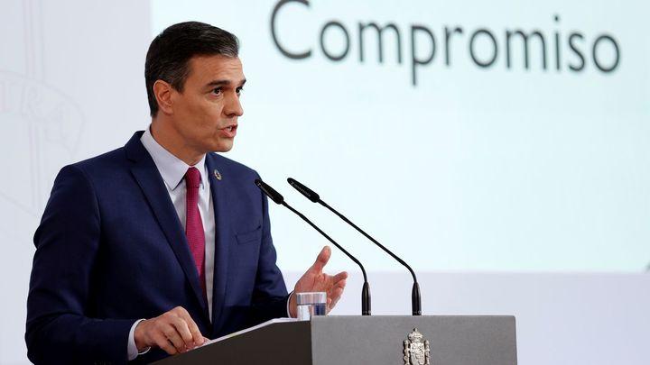 """Sánchez: """"El Gobierno ha cumplido el 23,4 % de los compromisos de investidura"""""""
