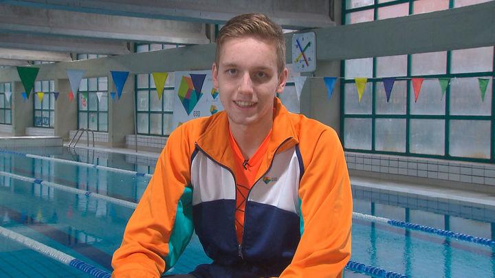 Nico, un joven nadador con pasaporte a Tokio
