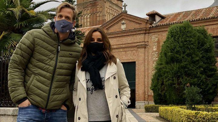 ¡Qué guapos, Carmen y Óscar!