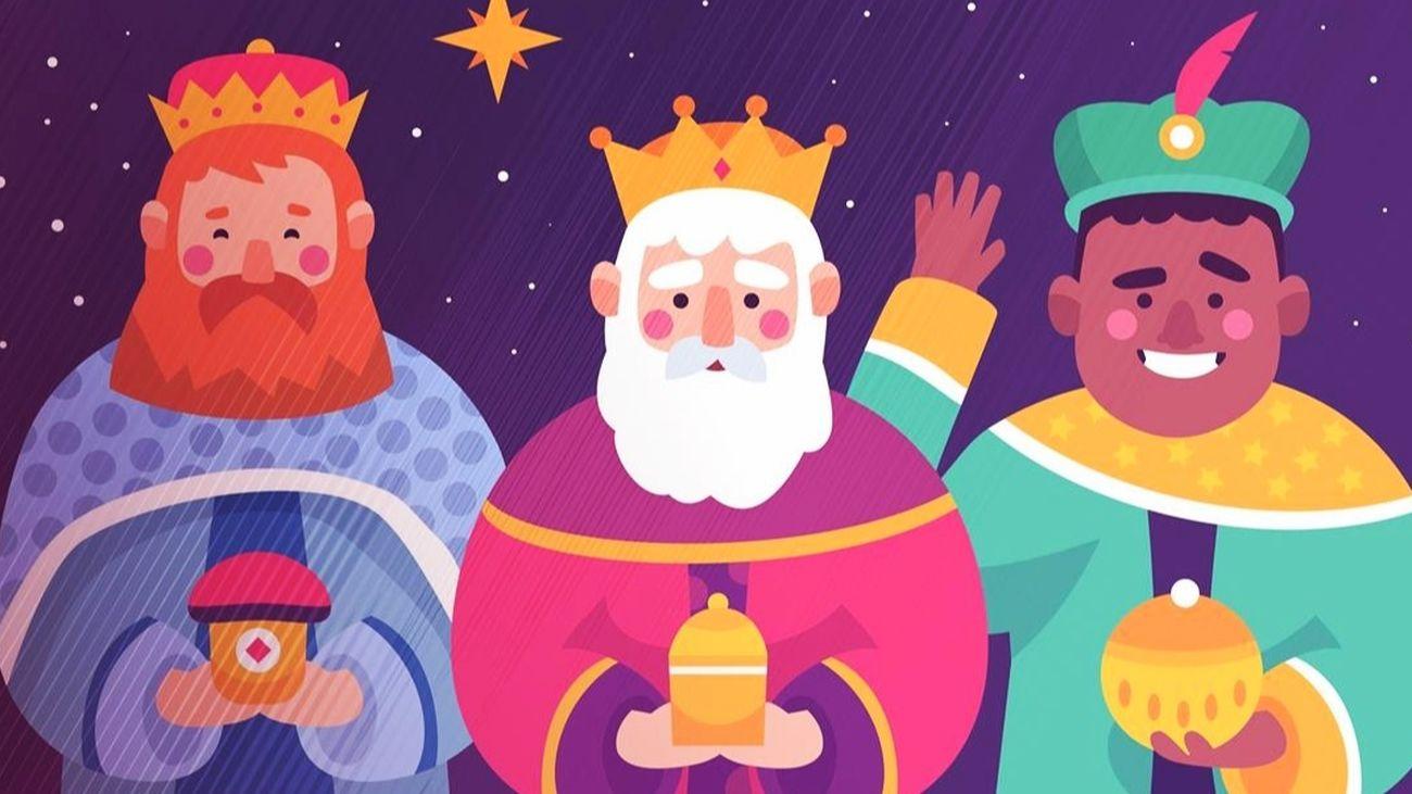 Los Reyes Magos hablan con los niños por videollamada en Las Rozas