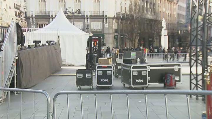 Una Puerta del Sol vacía despedirá 2020 con un homenaje a las víctimas por el Covid