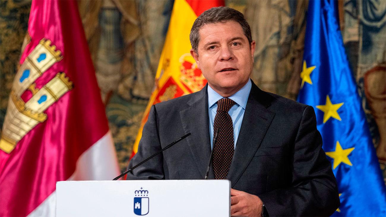 Emiliano García-Page, presidente de Castilla La Mancha