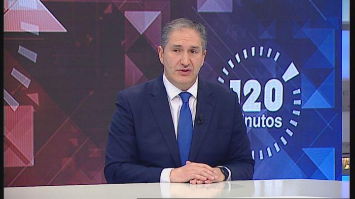 """José Cepeda (PSOE)  en Telemadrid: """"Acabamos el año sin cerrar un presupuesto"""""""