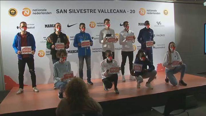 400 súper atletas en la San Silvestre Vallecana