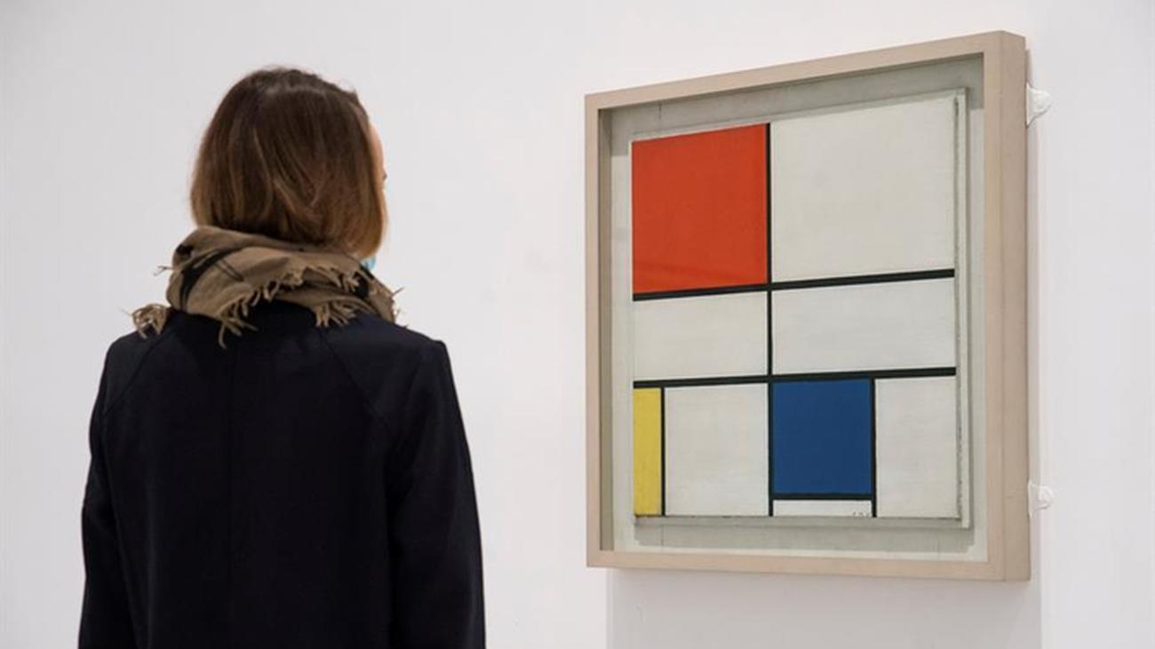 La obra de Mondrian en el Museo Reina Sofía
