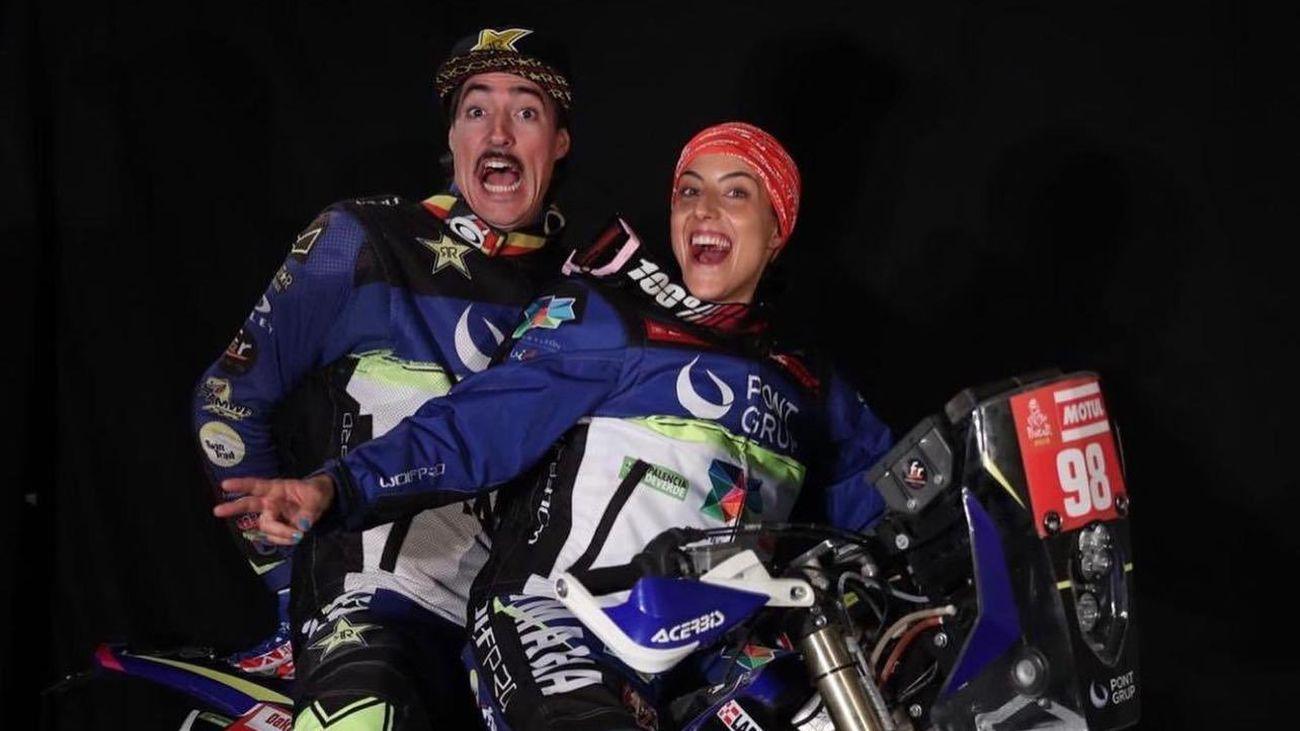 Sara García y Javier Vega, la pareja del Dakar vuelven a disputarlo en su categoría original