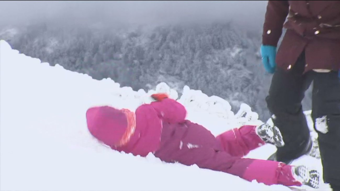 Alerta por nieve en la sierra