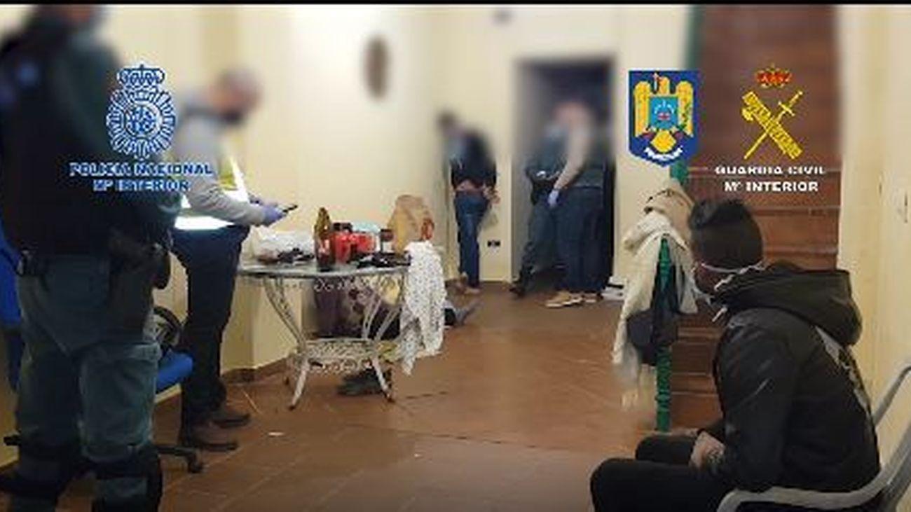 Desarticulada una organización criminal dedicada a la trata de seres humanos en Sevilla